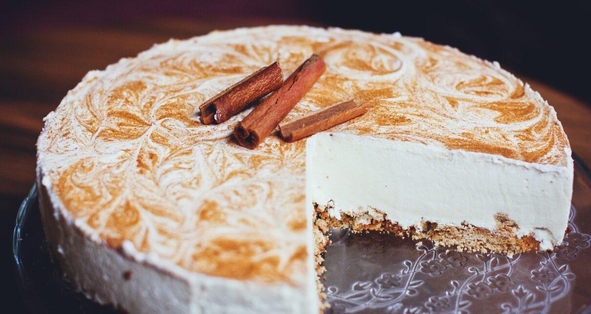 Fahéjas sajttorta – mennyei édesség a szádban