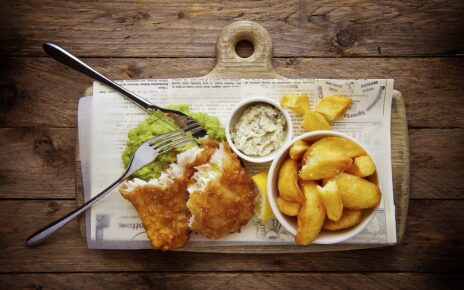 fish and chips (hal burgonyával)